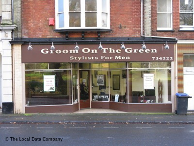 Groom on the Green Barbers